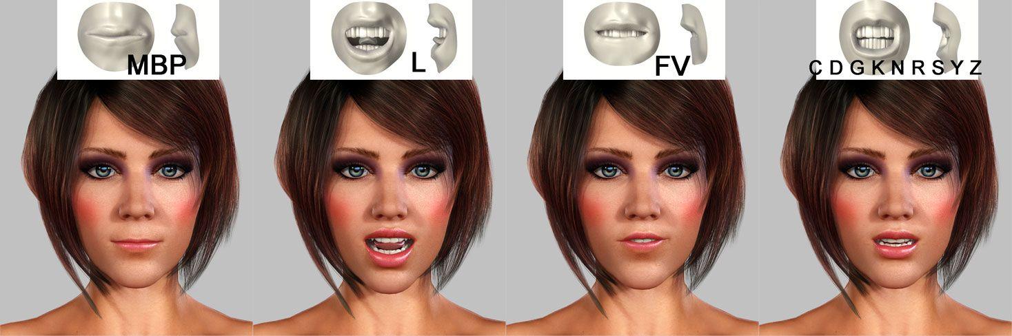 3d-face-animation