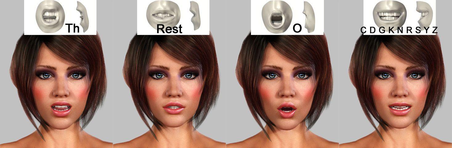 3d-girl-face-animation