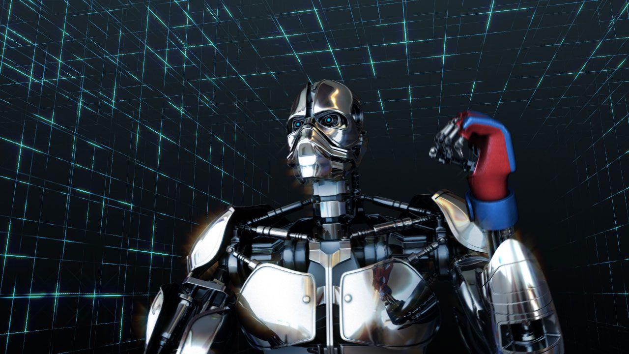 "3d-robot-model 3D Werbefilm - ""PHYZEX"""