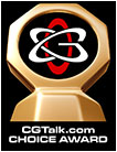 CGChoiceTrophy award