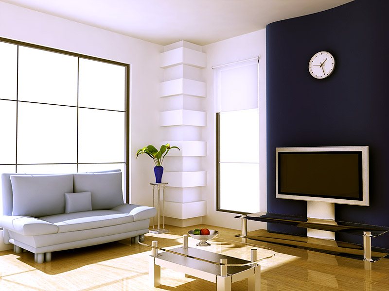 LivingRoom 3D Interior rendering