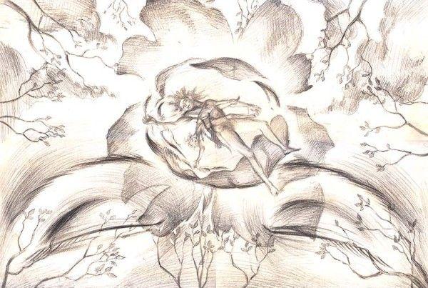 Meditation drawing