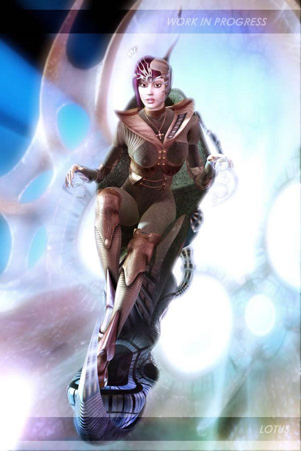 """ally-progress1 Game Charakter """"Ally"""""""