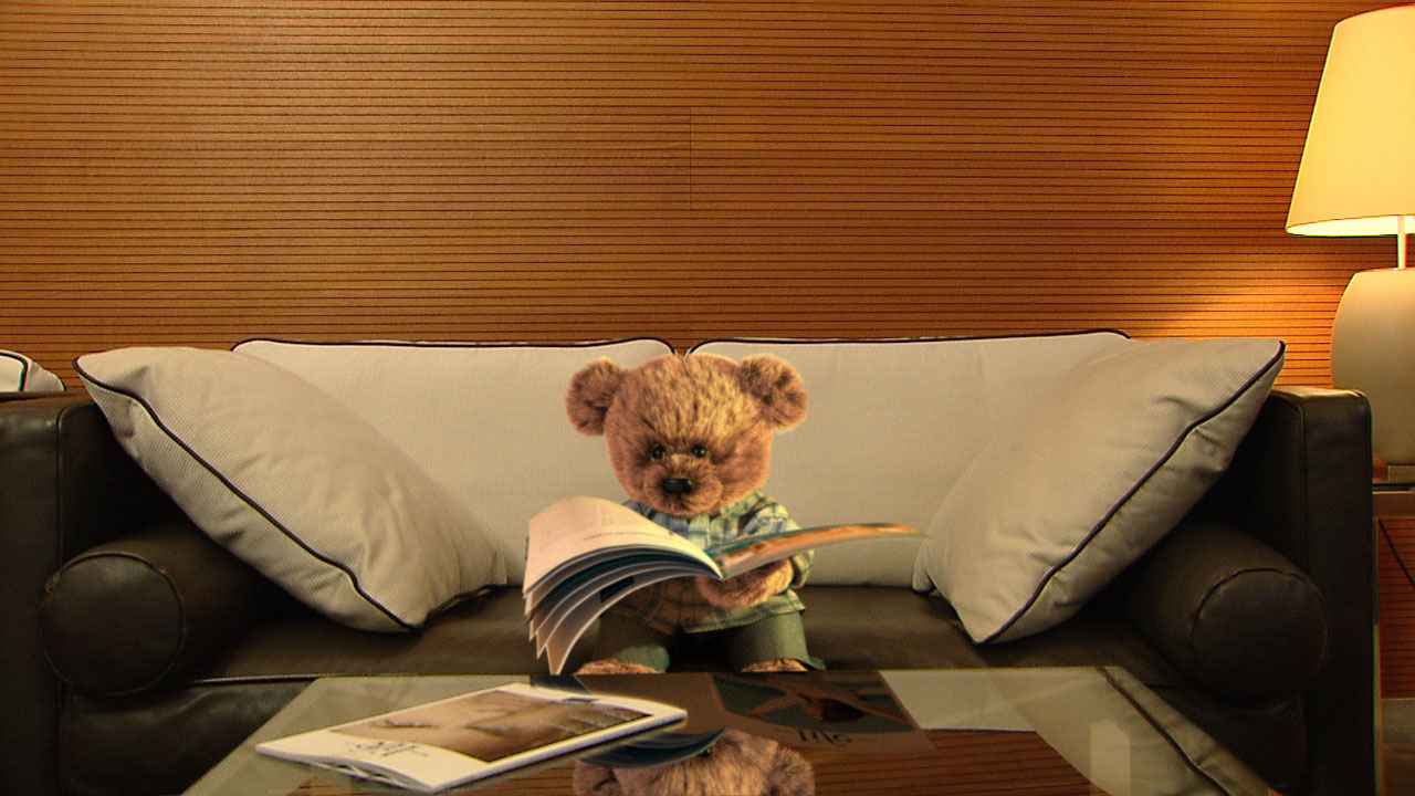 teddy-reading