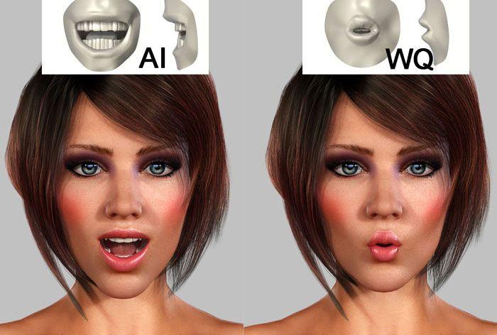 """Virtueller 3D Character – """"3D Girl"""""""