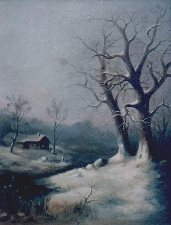 """winter """"Winter"""" Ölgemälde"""