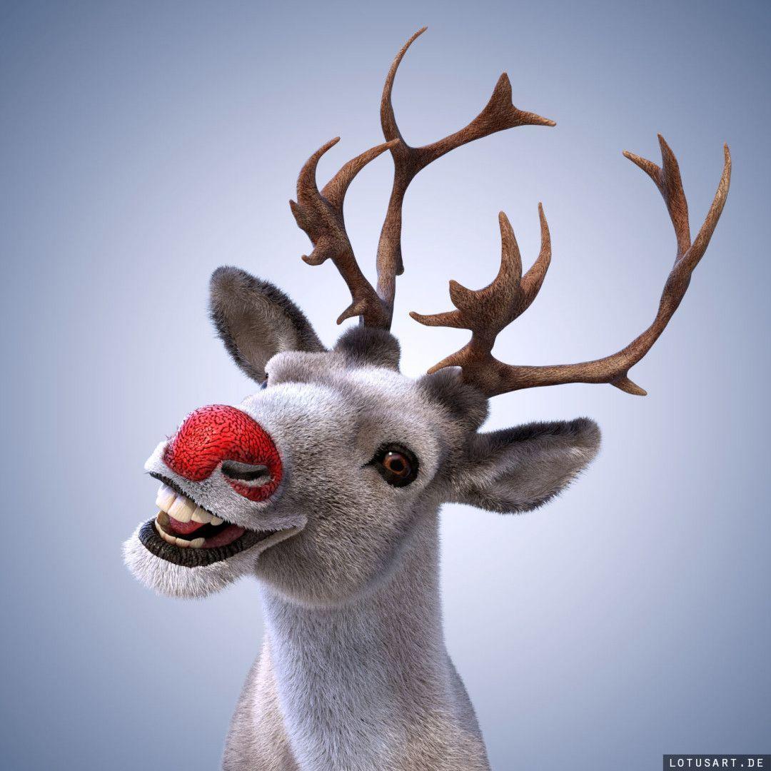 3D_Elk_Reindeer