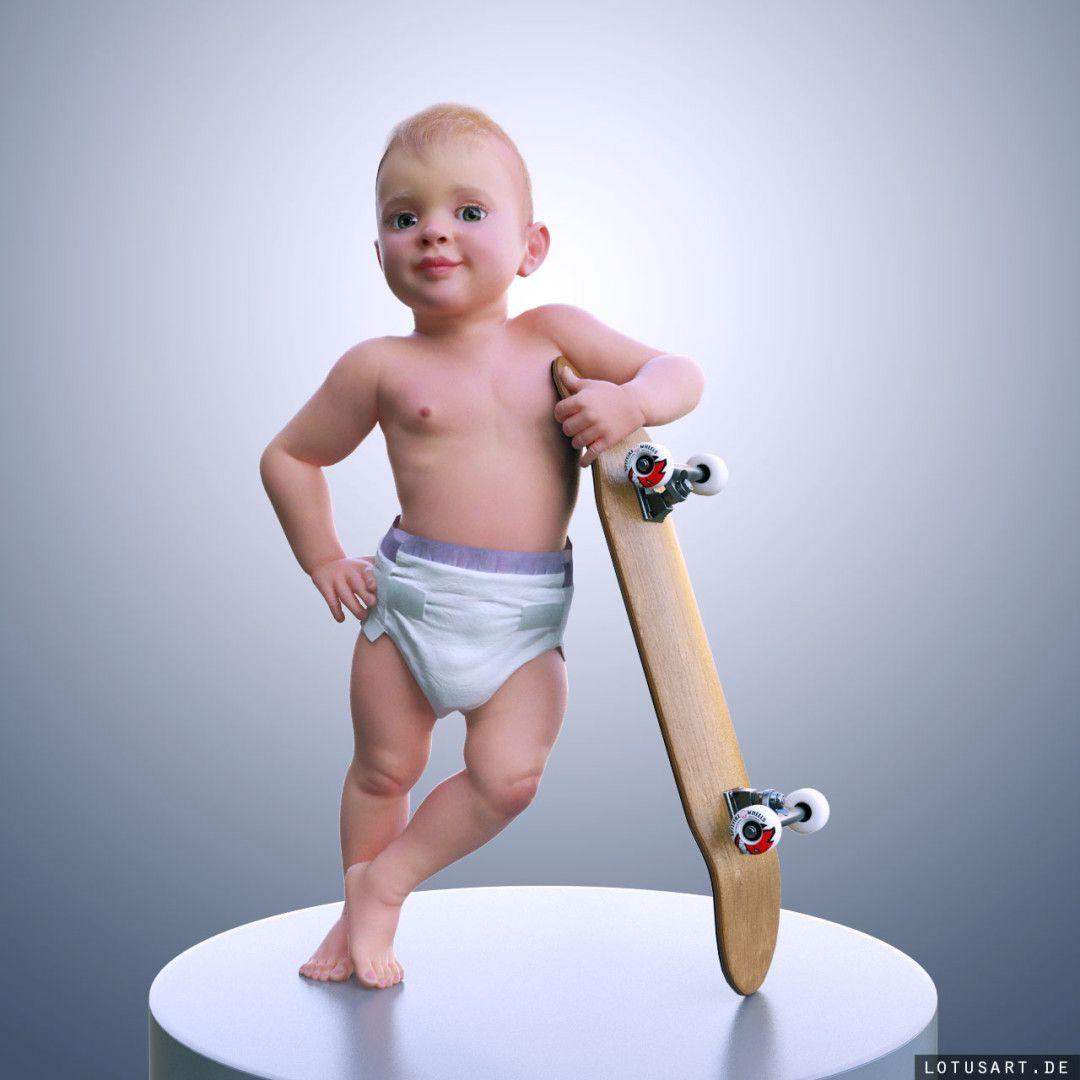 """3D_baby_lotusart-1080x1080 3D Baby für das """"Karamalz"""""""