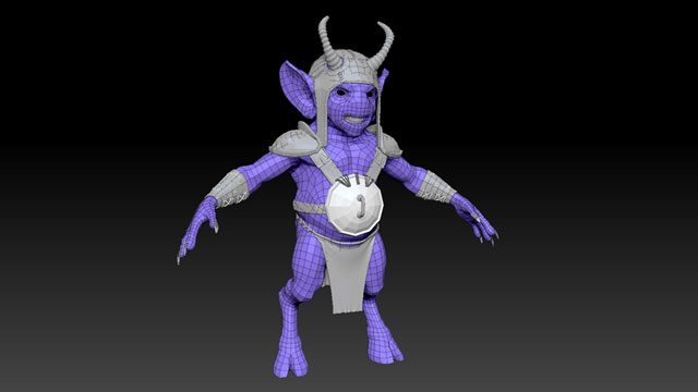 Character modeling for 3D Animation