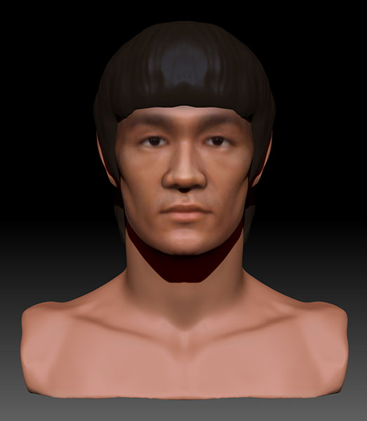 3d-character-bruce-lee-zbrush