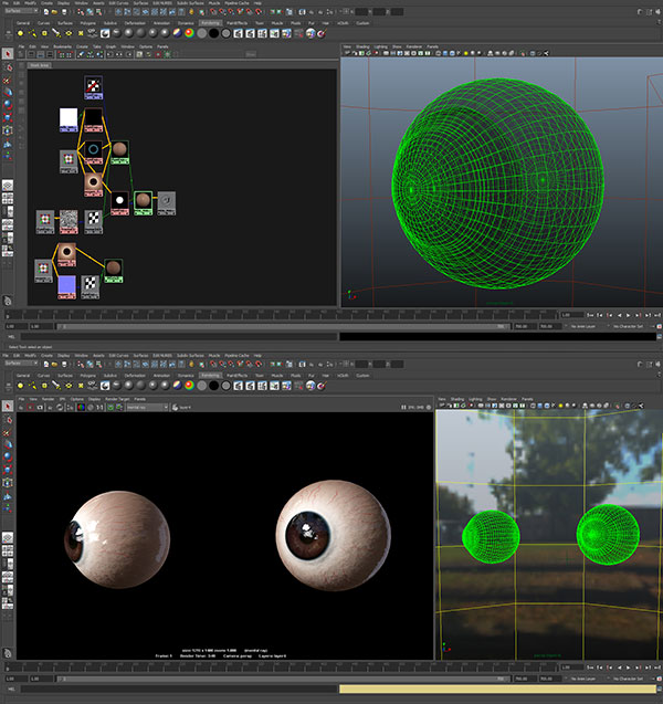 maya-screenshot-eye-3d-character 3D Portrait