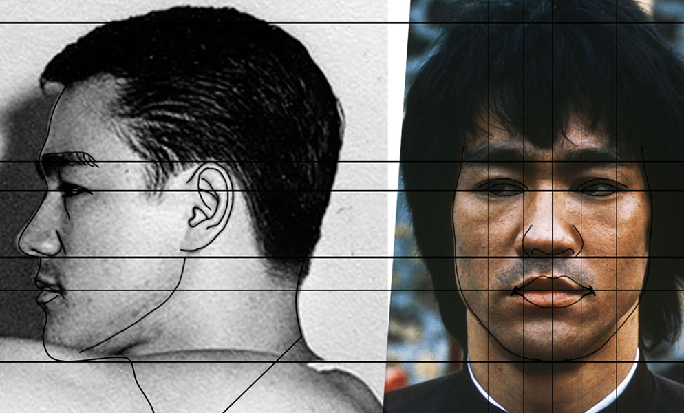 reference-3d-bruce-lee 3D Portrait
