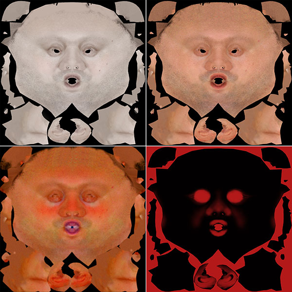 textur-set-face-head-3d-character