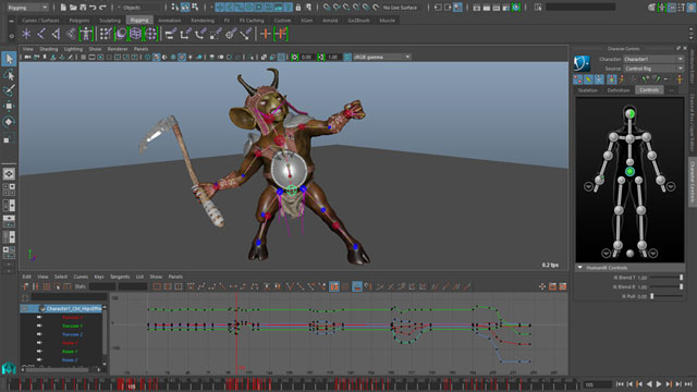 3d-animation creation