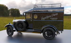 """3d-car-300x183 Oldtimer 3D Auto Modell """"ENGELCAR"""""""