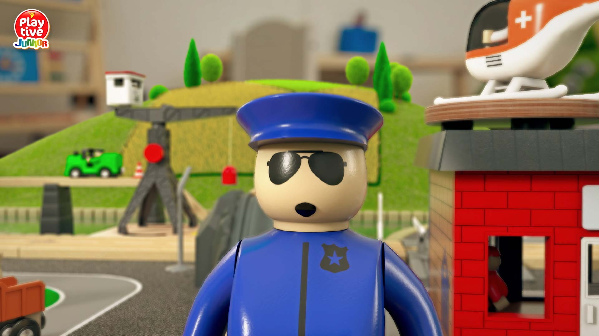 "3d-model-character-police-man-in-uniform-for-security-people-human-person-policeman-Lidl_Bahnwelt ""LIDL Bahnwelt"" Werbefilm"