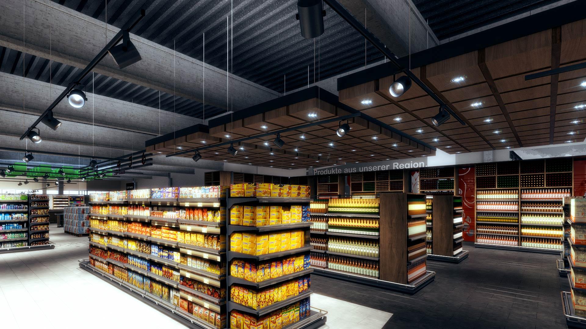 3D_Architekturvisualisierung_interior_Einzelhandel_EDEKA_Iserlohn_wein_Innenausbau EDEKA Iserlohn Innenarchitektur