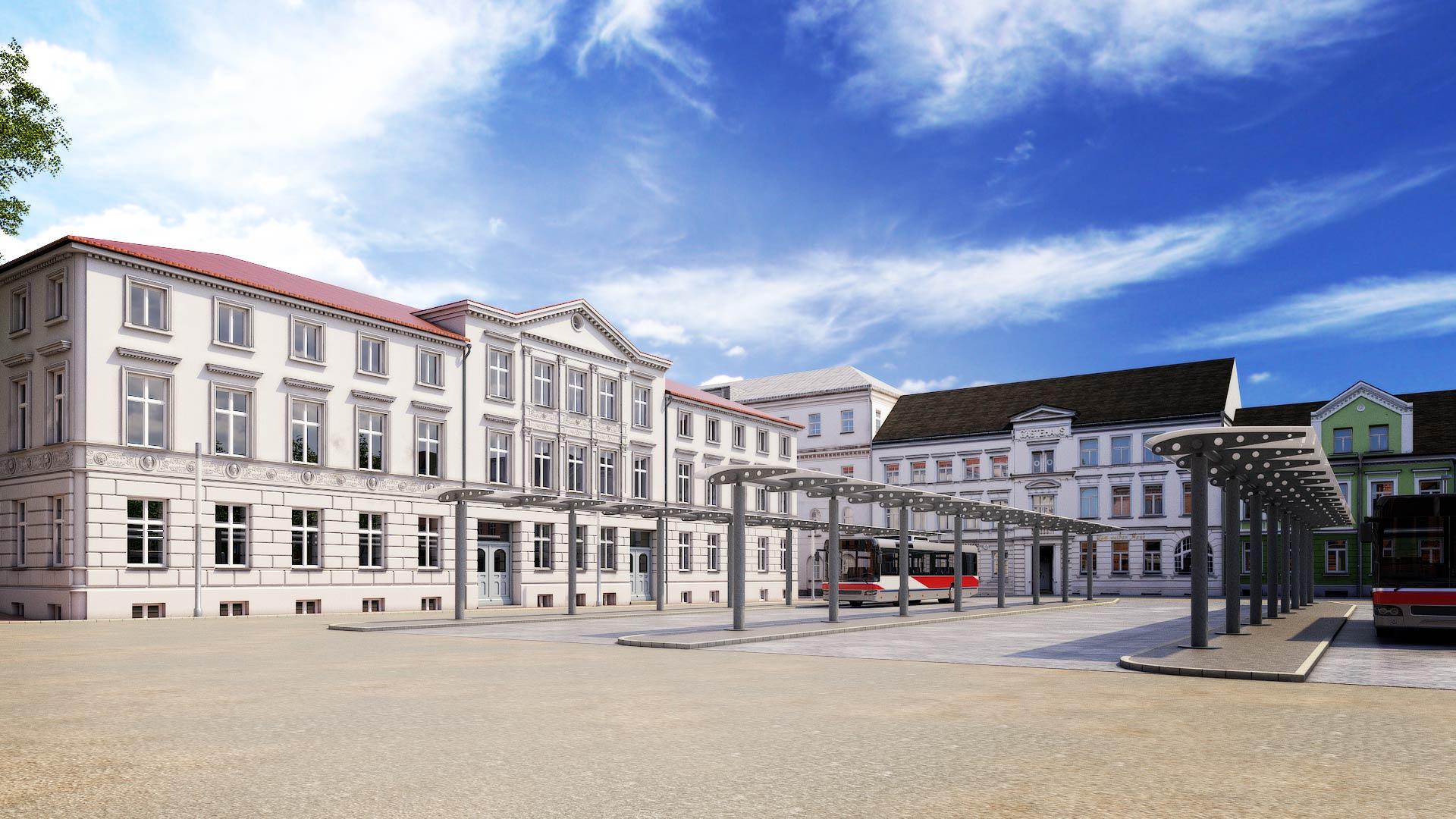 Schwerin_Bahnhof_Grunthalplatz_Archaeologie_3D_Architekturvisualisierung Schwerin Grunthalplatz 3D Architekturvisualisierung