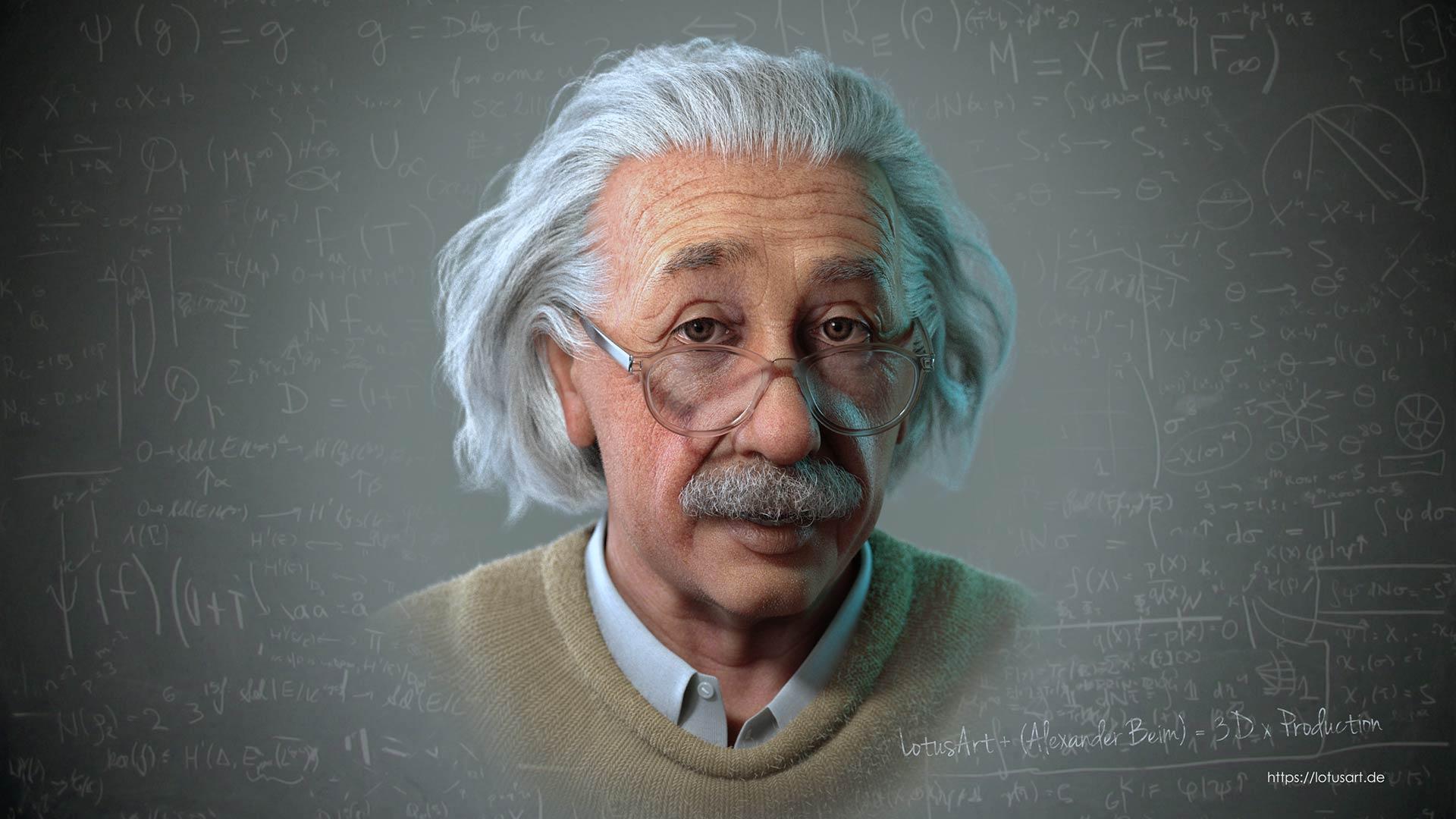 albert_einstein_3d_character_face_animation_rekonstruktion Albert Einstein 3D Porträt für ein Hologram