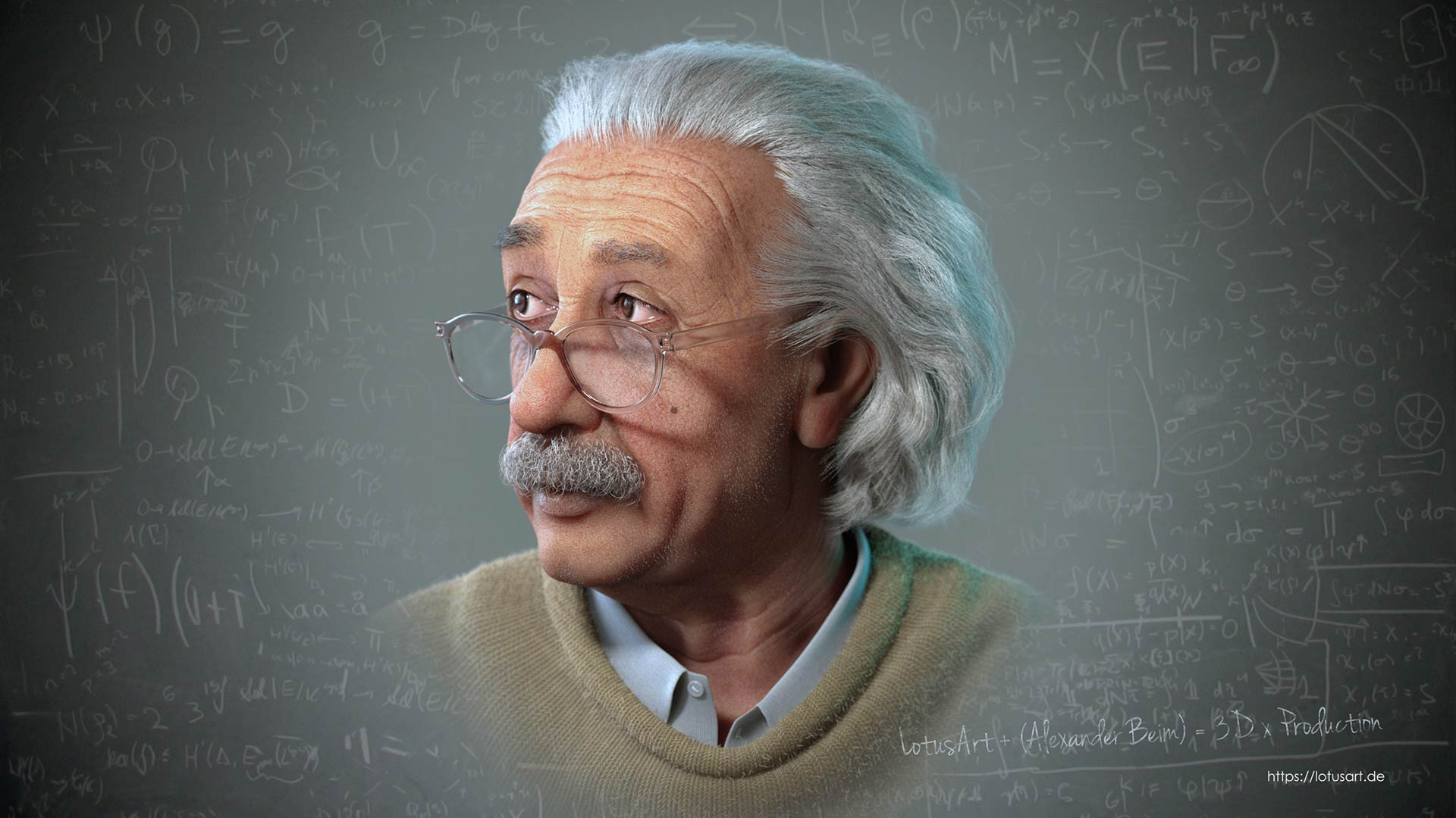 albert_einstein_3d_model_rigged_animation_head_image Albert Einstein 3D Porträt für ein Hologram