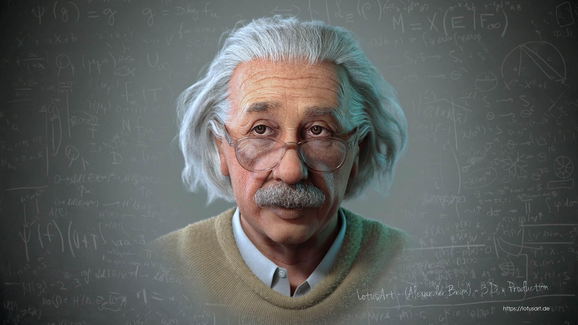 albert_einstein_portrait_picture_poster_bild_rendering_skin_sss_xgen Albert Einstein 3D Porträt für ein Hologram