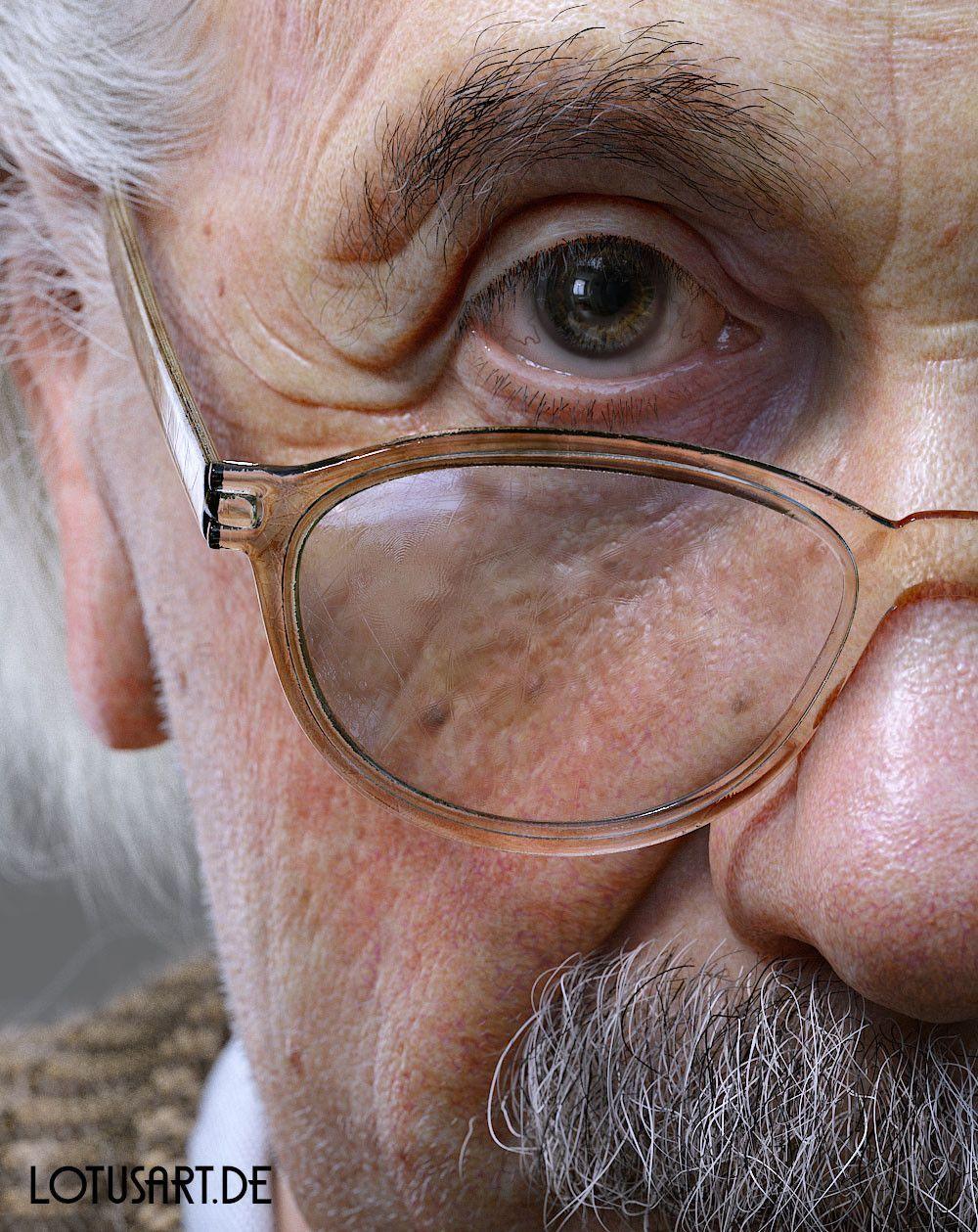 alexander-beim-alberteinstein-lotusart-alexanderbeim-03 Albert Einstein 3D Porträt für ein Hologram