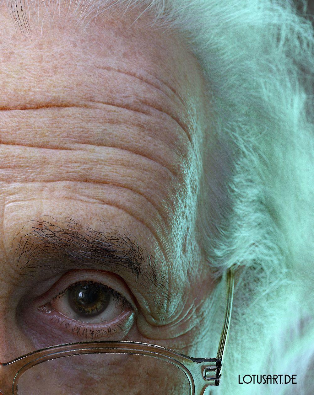 alexander-beim-alberteinstein-lotusart-alexanderbeim-05 Albert Einstein 3D Porträt für ein Hologram