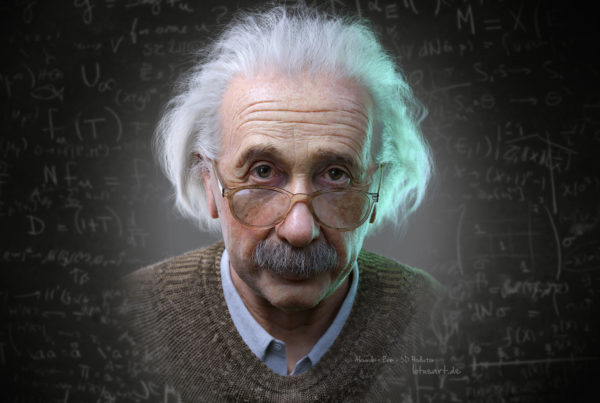 albert_einstein_lotusart_3d_portrait_character_animation_hologram_3