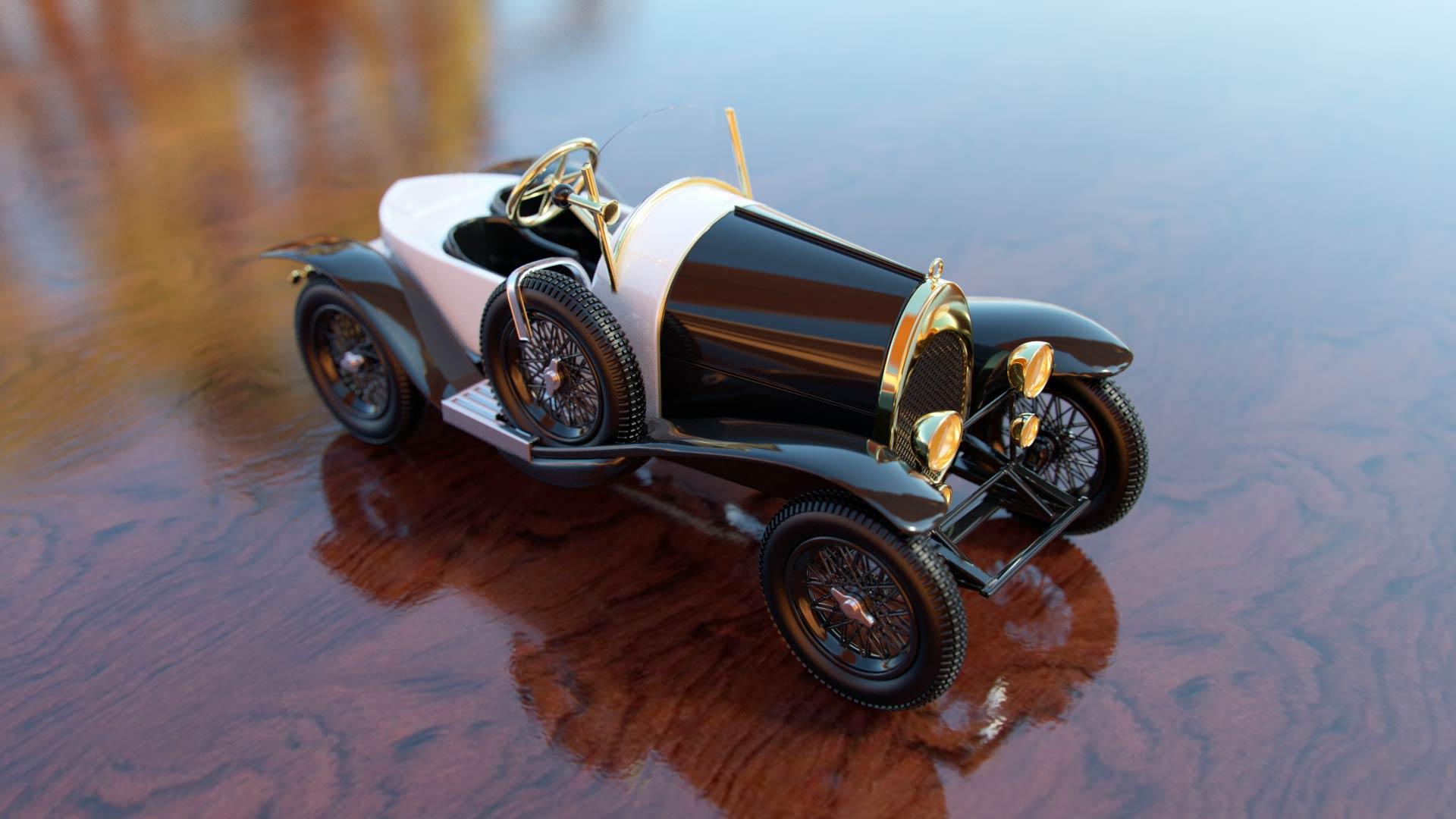 "modellauto_3d_visualisierung_bugatti_01 Technische Visualisierung für ""Bugatti"" Werbespot"
