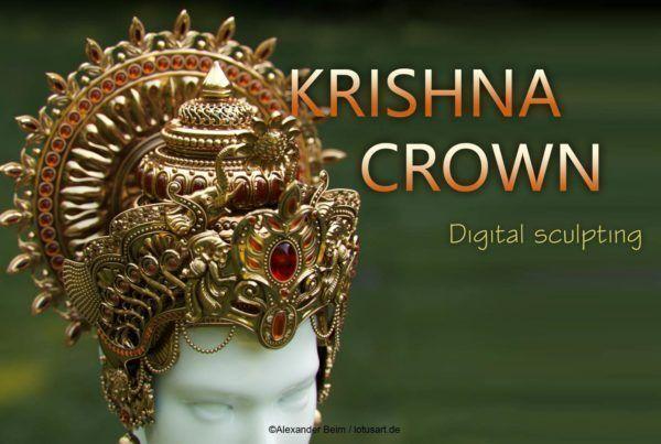 KrishnaCrown_thumbnails_lotusartdotde1-600x403 3D Computergrafik und Design Projekte