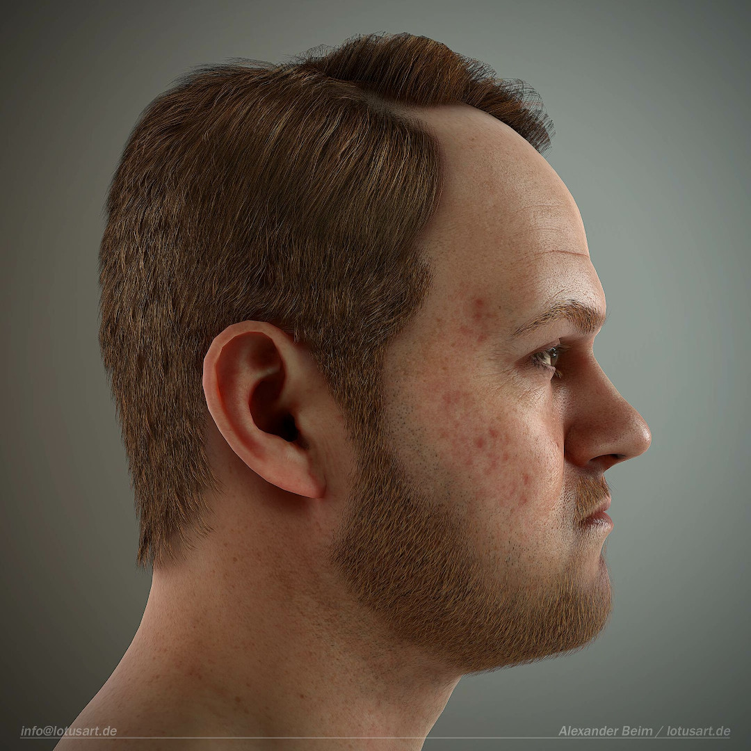 alexander-beim-real-time-character-man-hex-side-view Realistischer Real-Time 3D Character for game
