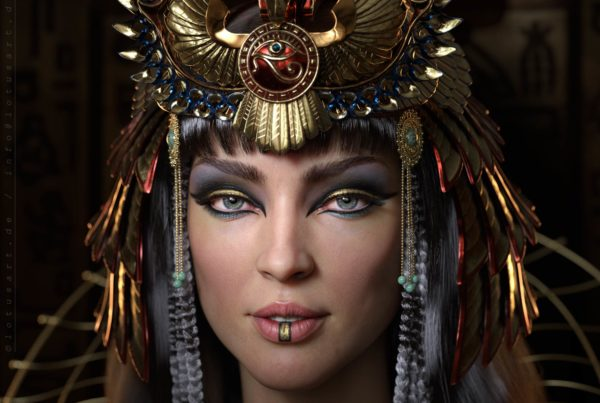 cleopatra_3d_character_historical_figure_pharaoh_egypt